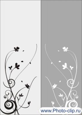 Цветочный узор №11