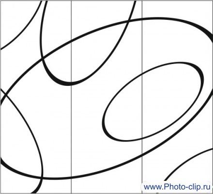 Пескоструйный рисунок Абстракция №164