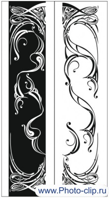 Пескоструйный рисунок Абстракция №166