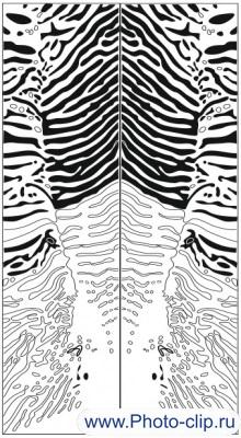 Пескоструйный рисунок Абстракция №172