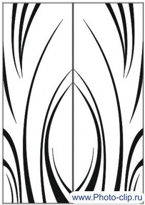 Пескоструйный рисунок Абстракция №173