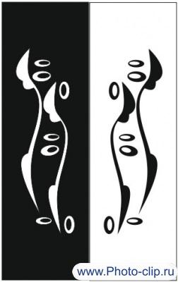 Пескоструйный рисунок Абстракция №175