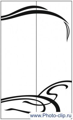 Пескоструйный рисунок Абстракция №178