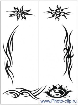 Пескоструйный рисунок Абстракция №180