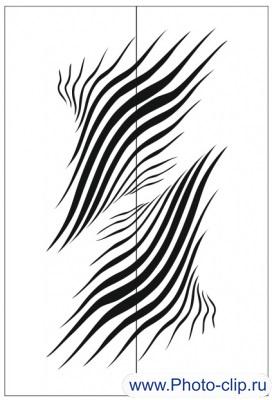 Пескоструйный рисунок Абстракция №181