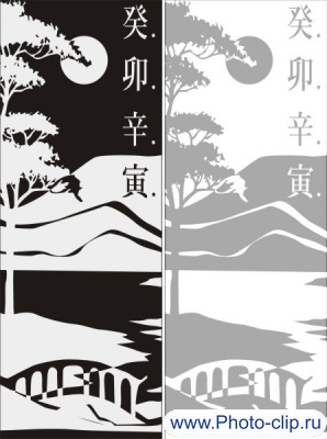 Китайский пейзаж 18