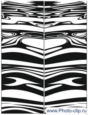 Пескоструйный рисунок Абстракция №186