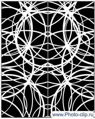 Пескоструйный рисунок Абстракция №193