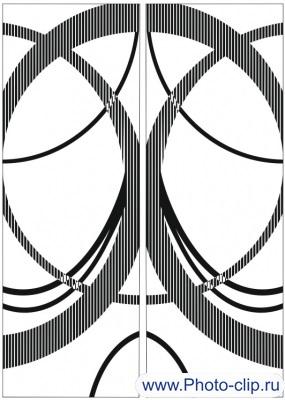 Пескоструйный рисунок Абстракция №198