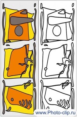 Пескоструйный рисунок Абстракция №199