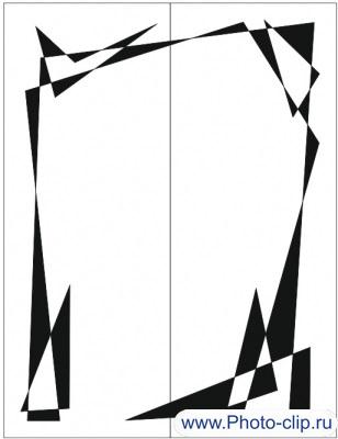 Пескоструйный рисунок Абстракция №203