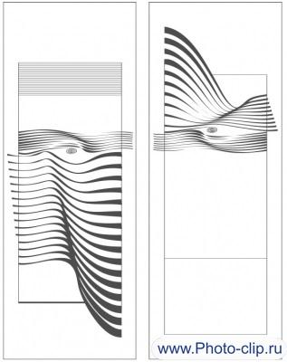 Пескоструйный рисунок Абстракция №207