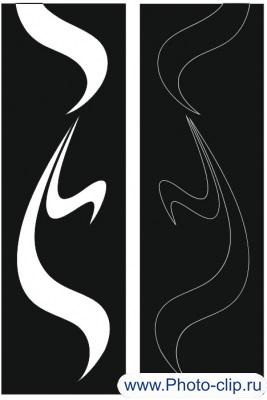 Пескоструйный рисунок Абстракция №212