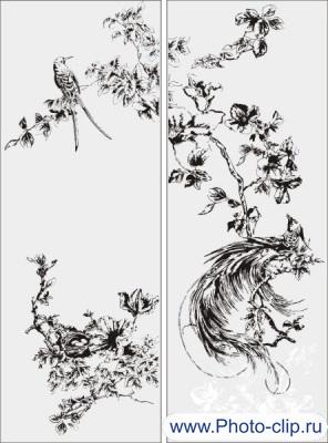 Птицы в векторе №2