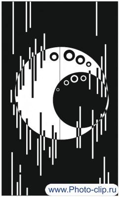 Пескоструйный рисунок Абстракция №226