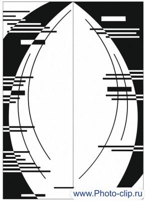 Пескоструйный рисунок Абстракция №233