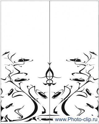 Пескоструйный рисунок Абстракция №234