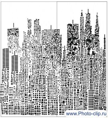 Пескоструйный рисунок Абстракция №237