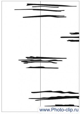 Пескоструйный рисунок Абстракция №238