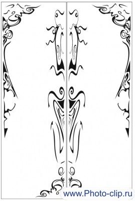 Пескоструйный рисунок Абстракция №245