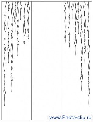 Пескоструйный рисунок Абстракция №248