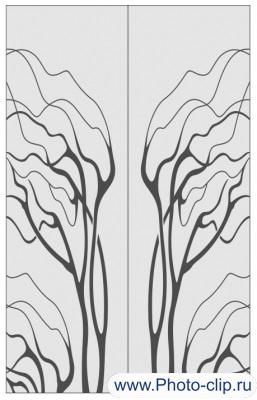 Пескоструйный рисунок Абстракция №250