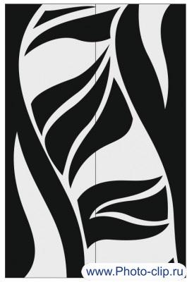 Пескоструйный рисунок Абстракция №255