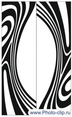 Пескоструйный рисунок Абстракция №257