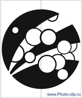 Пескоструйный рисунок Абстракция №263