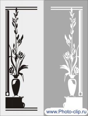 Цветочная ваза 2