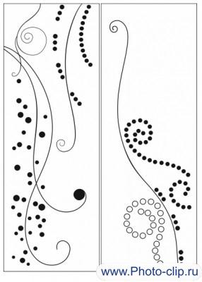 Пескоструйный рисунок Абстракция №301