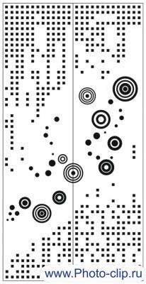 Пескоструйный рисунок Абстракция №310