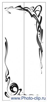 Пескоструйный рисунок Абстракция №330
