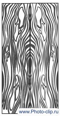 Пескоструйный рисунок Абстракция №332
