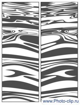 Пескоструйный рисунок Абстракция №346