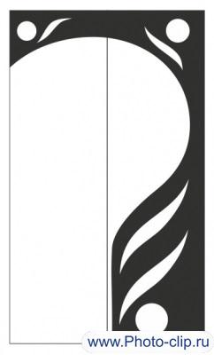 Пескоструйный рисунок Абстракция №347
