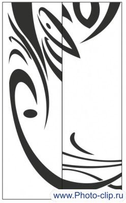 Пескоструйный рисунок Абстракция №349