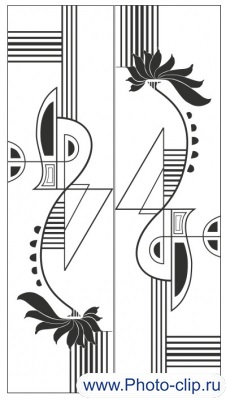 Пескоструйный рисунок Абстракция №357