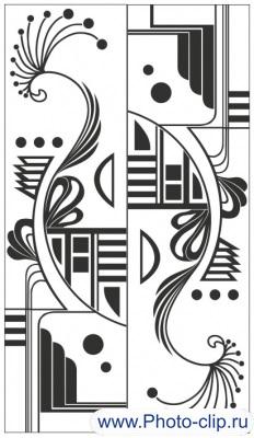 Пескоструйный рисунок Абстракция №358