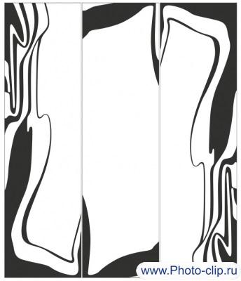 Пескоструйный рисунок Абстракция №363