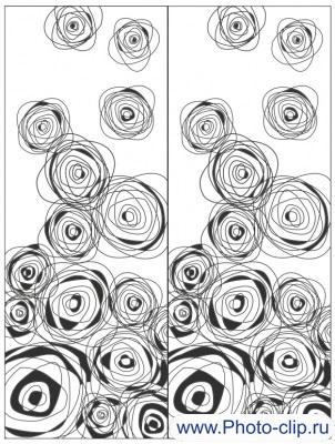 Пескоструйный рисунок Абстракция №366
