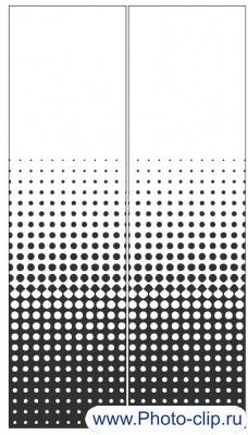 Пескоструйный рисунок Абстракция №371
