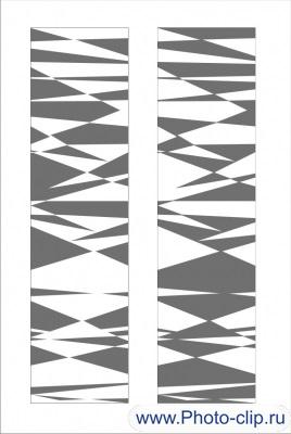 Пескоструйный рисунок Абстракция №378