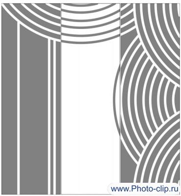 Пескоструйный рисунок Абстракция №390