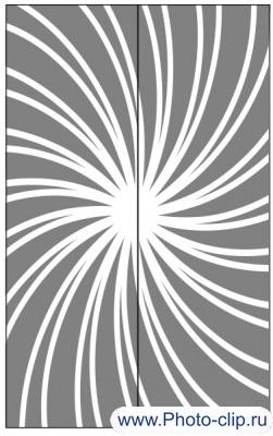 Пескоструйный рисунок Абстракция №395