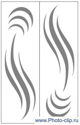 Пескоструйный рисунок Абстракция №398