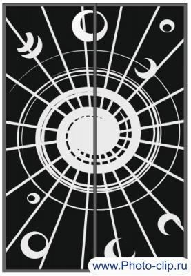 Пескоструйный рисунок Абстракция №402
