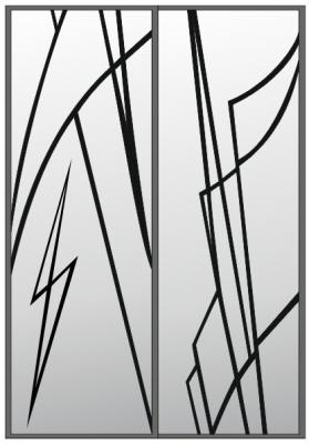 Пескоструйный рисунок Абстракция №404