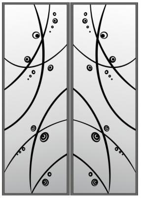 Пескоструйный рисунок Абстракция №406