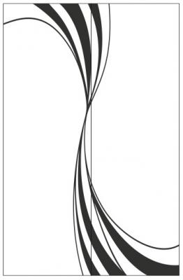 Пескоструйный рисунок Абстракция №424